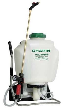 Backpack Sprayer, Poly, 15 to 60 psi