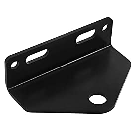NIXFACE Universal Zero Turn Mower Trailer Hitch Heavy Duty Steel Black 3 NIXFACE LISING.Trailer Hitch Materials:Made of heavy duty steel.It has strong load carrying capacity and impact resistance. Package Include:1Pc zero turn hitch without bolts and nuts.Due to the screws of different models may not be the same, if you need, you can go to the hardware store to buy it. Vehicle Fitment:Check your mover for bolt centers,universal means it will fit any brand mower using the bolt center listed.