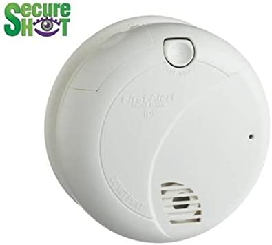 Amazon Com Covert Hidden Camera Smoke Detector Nanny Camera With Digital Video Recorder Inside By Spysonic Electronics