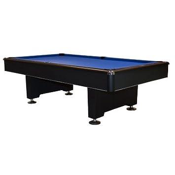 Black Champion 8u0027 Pool Table Felt Color: Black