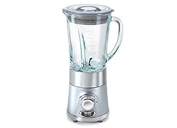 Turmix CX 750 Batidora de vaso 1.3L 550W Plata - Licuadora (1,3 L, Batidora de vaso, Plata, 1 m, Vidrio, 550 W): Amazon.es: Hogar