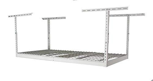 MonsterRax - 3x6 Overhead Garage Storage Rack - White (18