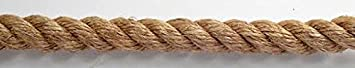 EVERSTRONG 100% Manila Twisted Rope in 600 Ft Spool x Various Sizes, 3/8',1/2', 5/8',3/4',1',1-1/4',2' (3/8') 3/8 1/2 5/8 3/4 1 1-1/4 2 (3/8) EVERSTRONG ROPE
