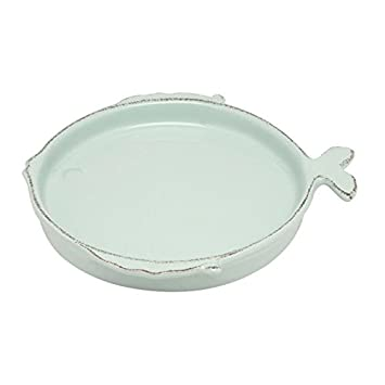 Virginia Casa Ceramiche Prezzi.Virginia Casa Aqua Marine Piatto Fondo In Ceramica 22 Cm Amazon It
