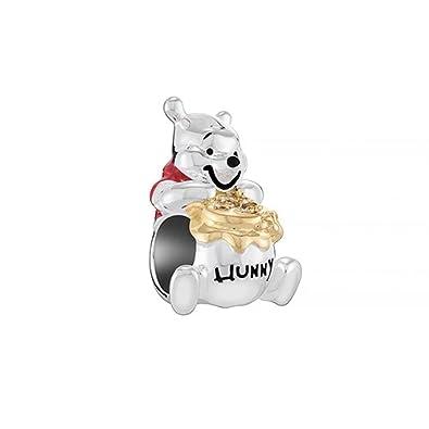 8372b6822 Chamilia Charms Disney Winnie the Pooh (2025 2296) 925 silver:  Amazon.co.uk: Jewellery