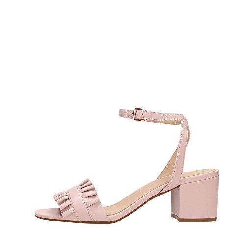 35887eb552 Envio gratis Michael Kors Sandalias Zapatos con Tacones 40S8BLMA1L Hermosa  Flex Rosa
