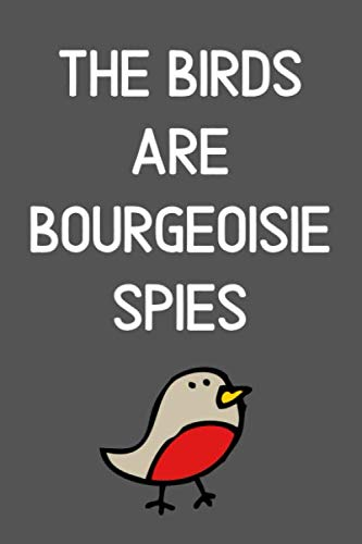 The Birds Are Bourgeoise Spies: Anti-Establishment Propaganda Parody Notebook (Gift Idea for Boys and Girls)