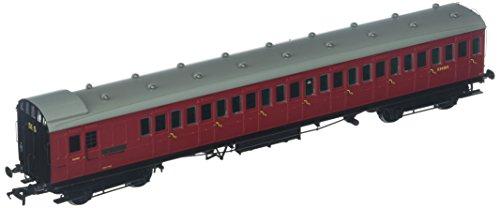 BRANCH-LINE 39-622 SE&CR 60' Birdcage Brake 3rd BR Crimson OO Scale Model from BRANCH-LINE