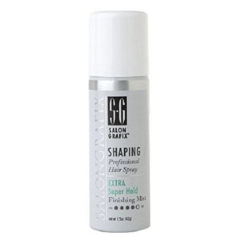 Salon Grafix Shaping Hair Spray Finishing Mist, Extra Super