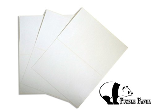 Puzzle Panda Peel & Stick Jigsaw Puzzle Saver - 40 Self-Adhesive Labels - 1800 Sq. Inches of Total (1800 Labels)