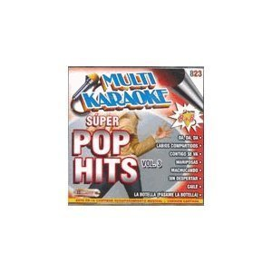 Price comparison product image Multi Karaoke - Super Pop Hits Vol. 3 CDG OKE-0823 by Various