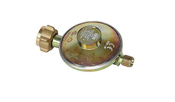 CFH 52452 - Regulador de presión (50 mbar, con manguera de gas de 80 cm)
