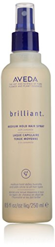 Brilliant Medium Hold Hair Spray by Aveda for Unisex - 8.5 oz Hairspray -