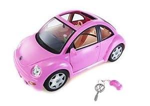 Amazon.com: Barbie Volkswagen New Beetle in PINK VW Bugs