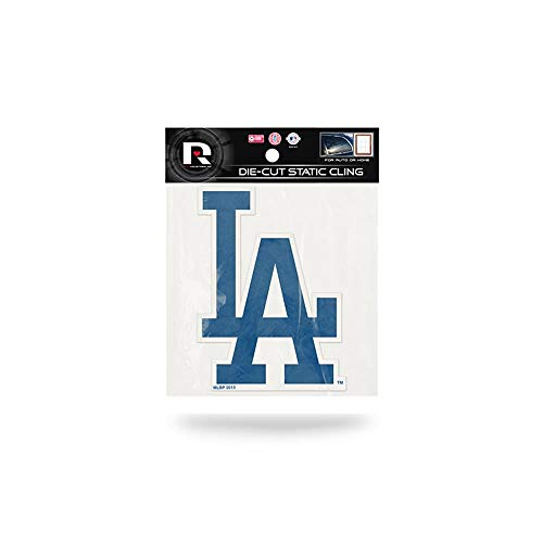 Rico MLB Los Angeles Dodgers Products Die Cut Static Cling Los Angels Dodgers, Black, ()