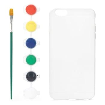 Kikkerland Paint Your Own Phone Case, iPhone 6