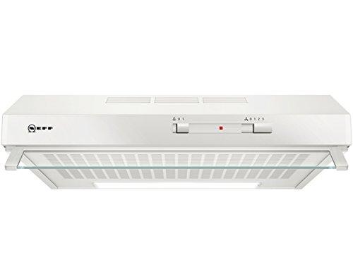 Neff DLAA600W (D60LAA0W0) / Unterbauhaube / 60cm / Edelstahl / Wahlweise Abluft- oder Umluftbetrieb [Energieklasse D]