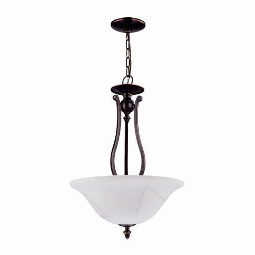 3 Light Bowl Pendant