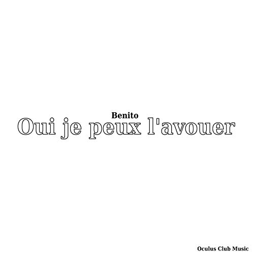 Oui je peux l'avouer for sale  Delivered anywhere in USA