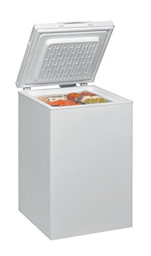Ignis CE1050 Independiente Baúl 100L A+ Blanco - Congelador (Baúl, 100 L, 9