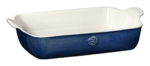 Emile Henry 559629 HR Ceramic Individual rectangular baker, Twilight
