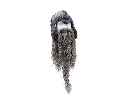 con Warriors gris una invierno barba de sombrero wrW0Zqtr