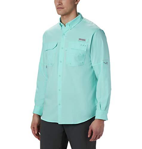 Columbia Blood and Guts III Long Sleeve Woven Shirt, Gulf Stream, ()