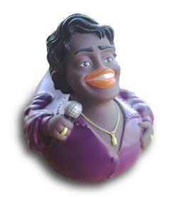 CelebriDucks James Brown in Purple Bath Toy
