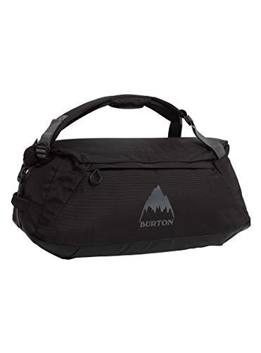 (Burton Multipath 60L Duffle Bag, True Black Ballistic, 60L)