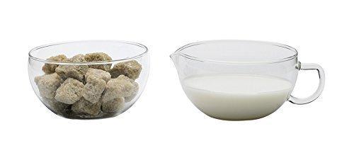 Trendglas Jena Sugar Bowl and Miko Cream Jug, 0.2 Litres by Trendglas Jena