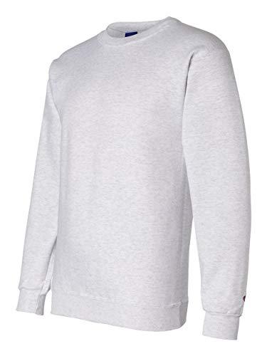 - Champion Adult 50/50 Crewneck Sweatshirt, Ash - Size Medium