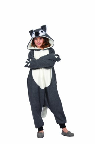 [RG Costumes 'Funsies' Smoochi The Squirrel Costume, Gray/White, Large] (Squirrel Halloween Costume)