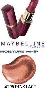 Maybelline Moisture Whip Lipstick, # 201 Pink Lace ()