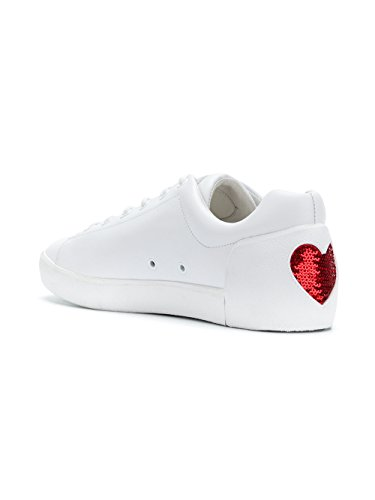 Ash Women's NIKITA01 White Leather Sneakers 44ivt