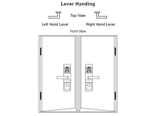 ITouchless Bio Matic Fingerprint Door Lock, Left Handle, Gold   Door Levers    Amazon.com