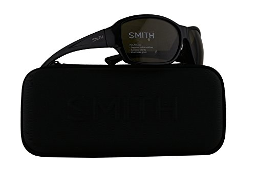 Smith Purist Sunglasses Black w/Polarized Grey Green 59mm Lens D28 - Sunglasses Smith Dolen