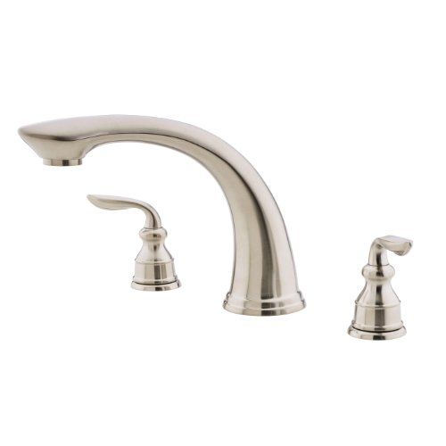 Pfister Avalon 2-Handle Roman Tub Faucet, Brushed Nickel