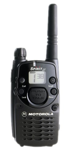 Motorola Spirit GT Professional 4-Mile 1-Channel FRS Two-Way Radio
