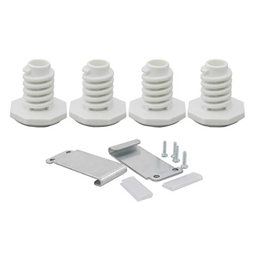 ApplianPar W10869845 Stack Kit Replacement for Whirlpool Standard Maytag Long Vent Dryer Washers W10298318RP AH3407625 1862761 -