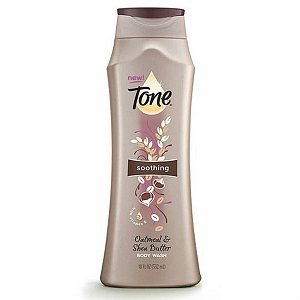 Tone Soothing Oatmeal And Shea Butter Body Wash (Pack of 2)