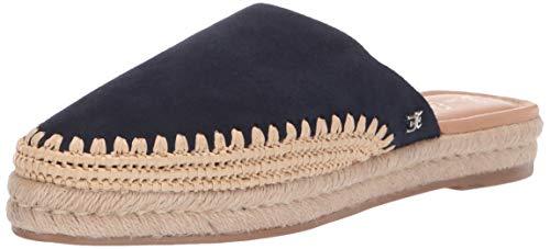 Sam Edelman Women's Austin Shoe, Navy Suede, 9 M US