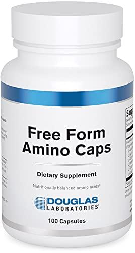 DOUGLAS LABORATORIES – Free Form Amino Capsules – Balanced Mixture of Amino Acids to Support Overall Health – 100…