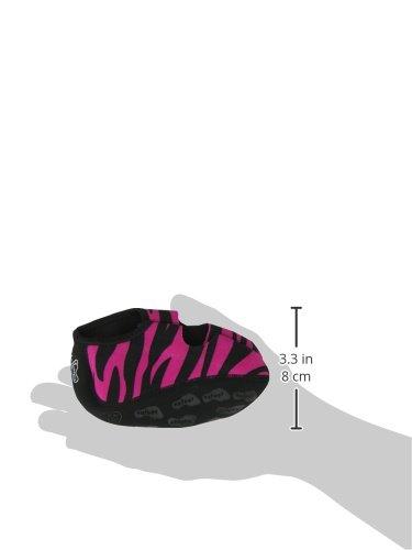 Nufoot Mary Janes Jenter Sko, Beste Sammenleggbare Og Fleksible Leiligheter, Reise Og Trening Sko, Dansesko, Yoga Sokker, Innesko, Tøfler, Rosa Sebra, Ekstra Liten