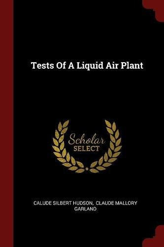 Download Tests Of A Liquid Air Plant PDF