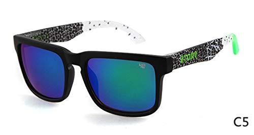 Style la de Hombres KOMNY Gafas F Sol Gafas Gafas Ventas Marca Diseñador Star Sol Mujeres Calientes de UV400 Clásicas Fuera C Unisex de de Sol Eyewares qOwOTz7E