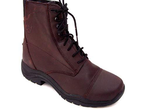 Ariats Dark Brown Leather Lace up Paddock (Sales Sample No Box) Boot SZ 7 Medium