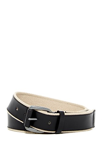 Cole Haan Webbing Leather Belt