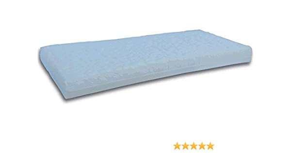 Colchón de LATEX La Cigüeña para CUNA de 60x120 (Altura 10 cm): Amazon.es: Bebé
