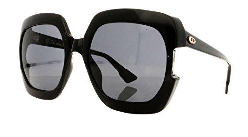 Dior Sunglasses Grey Lens - Christian Dior Gaia sunglasses 807IR Black/Grey lenses new