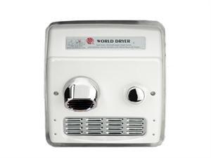 World Dryer Ra5-q974 Hand Dryer, Recessed, 115v, 20 Amp, ADA Handicap Compliant, Commercial Restroom - World Dryer Model